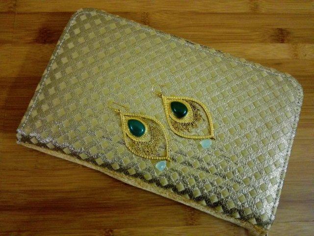 Golden Clutch - Amrapali Earrings