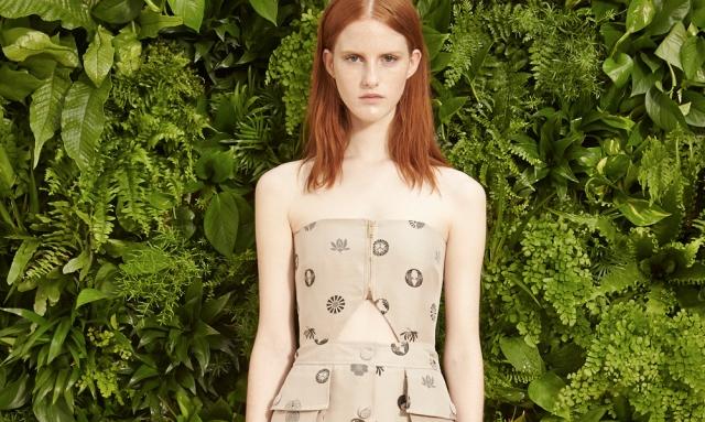 Stella McCartney Spring 2015 - Employing Sustainable Fashion
