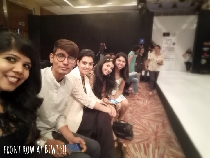 Front Row Bangalore Fashion Week
