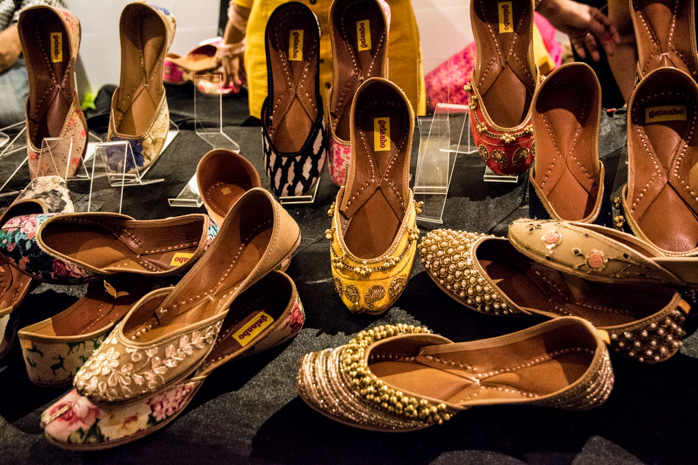 Shoes that sparkle, specially for Diwali